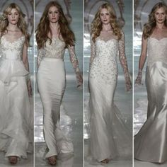 The spanking new Reem Acra Bridal spring/ summer 2015 line is one of the classiest and one of the most spectacular arrays of gowns you could ever imagine! Reem Acra Bridal, Prom Dresses, Formal Dresses, Wedding Dresses, Spring Summer 2015, Fashion News, Classy, Gowns, Couture