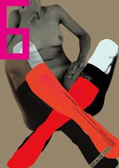 "blejz:  ""The Decalogue 6, Kieslowski, Polish Poster Designer: Ewa Bajek  """