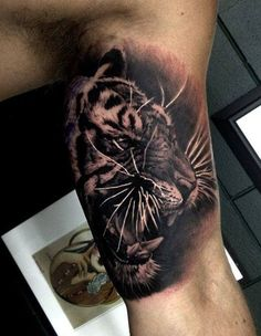 #tiger #tattoos