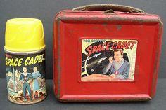 Tom Corbett Space Cadet Circa1952 Metal Lunchbox & Thermos