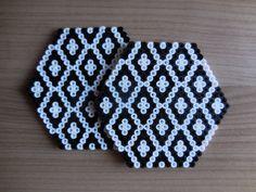Coaster Set Hama Beads by TCAshop