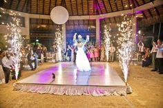 Now Larimar Wedding - Reception at castaways Now Larimar @conciergeandco NowLarimar @Nancy Willis Resorts & Spas