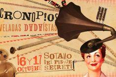"Postal for ""CRONOPIOS, dadaist soirees""."