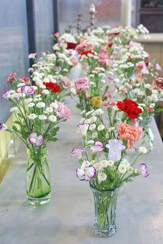 mille fleurs/in glasses, how easy and delightful