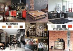 Un intérieur tendance avec le style industriel