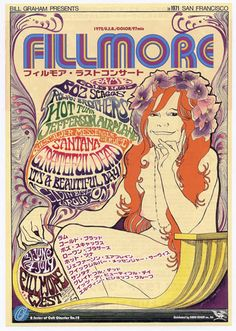 Grateful Dead concert poster, Fillmore West Some of my friends made it to the Fillmore in San Francisco. But the art lives on. Tour Posters, Band Posters, Event Posters, Vintage Concert Posters, Vintage Posters, Fillmore West, Grateful Dead Poster, Psychedelic Rock, Psychedelic Posters
