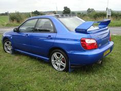 2005 Subaru Impreza 2.0 WRX AWD Turbo 4-door saloon. Blue with full Prodrive body kit. Fully documented service history.