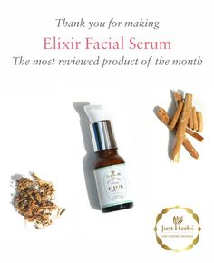 Thank you for making the elixir facial serum the most reviewed product of the month. Beauty and fashion media, bloggers and most importantly you - our customers can't stop raving about it. Thank you again. Do ping us if you need a refill of your favorite products or a consultation. Happy to help :)😘😘 #facialserum #organic #ayurvedic #fragrancefree #ayurvedicliving #organicakincare #skincarejunkie #effectiveskincare #resultsdriven #healthyskin #beauty #beautybloggers #bbloggers…