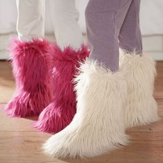 4bf0c03ea0fc Fur-riffic Faux Fur Booties