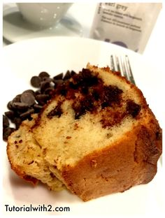 Chocolate Chip Nutella Cake Recipe