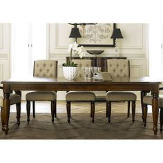 Forest Dining Table #birchlane