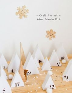 We know everyone is excited for Christmas, so what better way to get pumped up than to get busy with a DIY! Today Véronique from Pichouline has another great DIY for us. A very creative and cute advent calendar. Nordic Christmas, Noel Christmas, Winter Christmas, Xmas, Advent Calenders, Diy Advent Calendar, Calendar Ideas, Christmas Calendar, Christmas Countdown