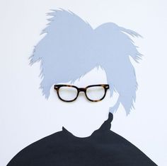 Andy Warhol-- David Scwen Does a Great Social Media Campaign for Warby Parker (GALLERY)
