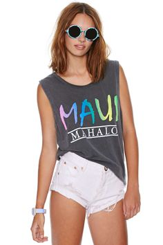 Chaser Maui Tank | Shop New Colors On The Block at Nasty Gal