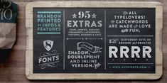 Here at Creative Bloq, we're big fans of typography and we're constantly on the hunt for new and exciting typefaces - especially free fonts. Great Fonts, Cool Fonts, New Fonts, Sans Serif Fonts, Handwritten Fonts, Typography Letters, Graphic Design Typography, Hand Lettering, Graphic Art