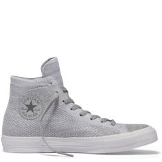 450ca0bc00fd Chuck Taylor All Star X Nike Flyknit High Top Wolf Grey Steel Cap Boots