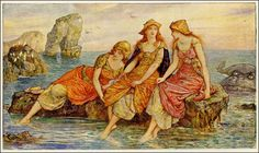 Henry Justice Ford ~ Illustration ~ via The Pictorial Arts