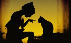 Woman With Her Cat, by Romanian based photographer Sandy Manase