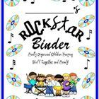 A Rockstar theme cover for you students daily binders. Please note this is a pdf file and is not editable. There is ample room to write in student ...