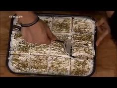 ΚΑΝΤΟ ΟΠΩΣ Ο ΑΚΗΣ: Εκμέκ κανταΐφι - YouTube Greek Sweets, Greek Desserts, Greek Recipes, Chef Recipes, Dessert Recipes, Cooking Recipes, Greek Beauty, Raisin Bread, Confectionery
