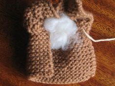 Knitted Bunny tutorial - Step 4