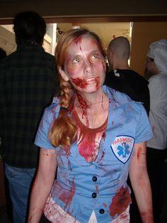 Paramedic Zombie! Possible Halloween idea?