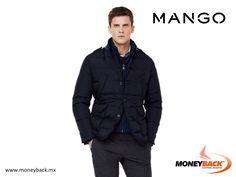 Mango acaba de abrir una tienda para caballeros en el centro comercial Oasis Coyoacán, donde puedes encontrar increíbles prendas de la línea Smart casual, como esta chamarra de tejido acolchado, relleno de pluma y plumón. Compra en Mango México para obtener un reembolso de impuestos para turistas extranjeros! #viajeamexico