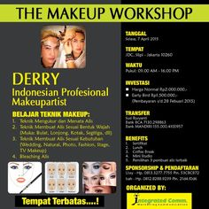 THE MAKEUP WORKSHOP WITH DERRY