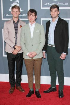Foster the People in dapper suits.