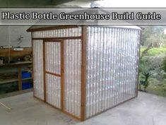 Plastic Bottle Greenhouse Build Guide  I saw this great green house idea and bet of all you can make it using recycled parts so even better so try this out.