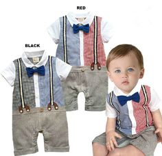 Toddlers Baby Boy Smart Casual Suit, Spring Summer Infant Clothes Outfit 3-24M #unbranded #SummerPartyPageantSmartCasualSmartCasualDressyEverydayHoliday