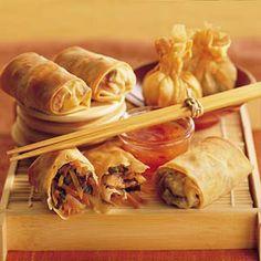 Recept - Pangsit met garnalen en gehakt - Allerhande