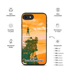 Biodegradable Products, Phone Cases, Iphone, Phone Case