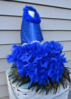 Crystal Peacock Feather Harness Dog Dress by KOCouture on Etsy