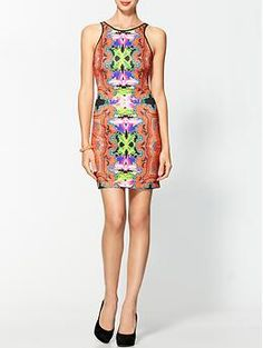 I need this dress in my life ASAP!!  Clover Canyon Neoprene Dress | Piperlime