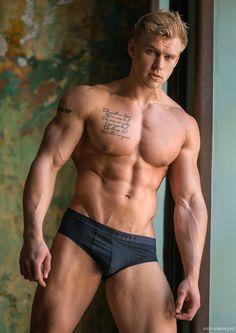 Serge Henir © VISHSTUDIO # men hot guy abs eye candy bare hunk nice arms male fitness model body adonis shirtless briefs ripped chest muscles vishstudio.deviantart.com