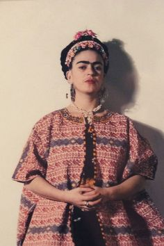 Frida Kahlo, the Mexican painter, writer and political activist.