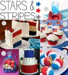 4th of July inspiration-sweet treats!