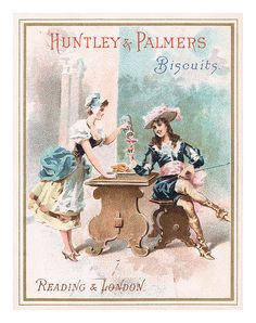 Huntley & Palmers trade card by totallymystified, via Flickr