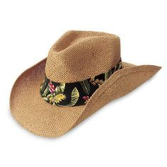 3c4eb3e5 High density paper straw cowboy shape hat with elastic sweatband. One size  fits most. Image shown is a custom prototype.