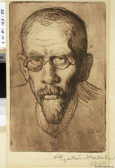 Apteekkari Filip Gallen, taiteilijan veli, 1909 Finland, Portrait, Artists, Candle, Museum, Headshot Photography, Portrait Paintings, Drawings, Portraits