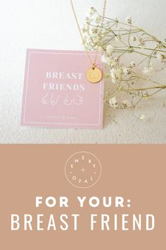 The punniest gift for your BREAST friend and you! #breastfriends #boobpun #bestfriends Gifts For Your Sister, Best Friend Gifts, Gifts For Friends, Initial Necklace Gold, Gold Bar Necklace, Birth Flowers, Turquoise Rings, Gold Letters, Birthday Gifts For Her