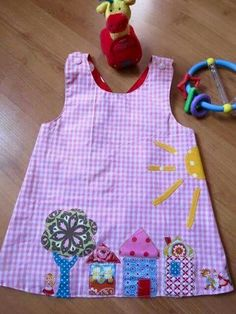 Embroidery Baby Patchwork 20 Ideas For 2019 Sewing Kids Clothes, Sewing For Kids, Baby Sewing, Applique Patterns, Sewing Patterns, Applique Ideas, Sewing Crafts, Sewing Projects, Baby Born Clothes