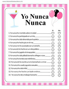 Classy Bachelorette Party, Bachelorette Party Planning, Friend Challenges, Funny Questions, Spanish Words, Sleepover Party, Pure Romance, Family Games, Wedding Wishes