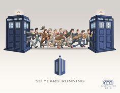 Resultado de imagem para doctor who illustration