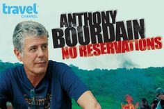 Anthony Bourdain - chef, author, and host - offers his top 5 travel tips on how to survive travel nightmares, and make the most of any trip. Here are Anthony's TOP FIVE TIPS to make holiday travel less hassle, and more fun! Anthony Bourdain No Reservations, Anthony Bourdain Parts Unknown, Devious Maids, Great Tv Shows, Tv Shows Online, Travel Channel, Video Film, New World Order, Big Love