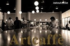 ART CAFE WESTGATE- Average cost Ksh. 1600 (Per person,salad + main course)Located in Nairobi's Westgate Mall & overlooking the main street, the Art Caffe is a bright, light-filled café famous for its roasted coffees, hearty dishes and mouth watering deserts. With wood-panelled walls and high ceilings, the café has a unique character, and is the ideal spot for post-shopping coffee and cake breaks with friends, pre-shopping breakfasts and leisurely lunches.
