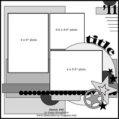sketch savvy scrapbook page layout sketch
