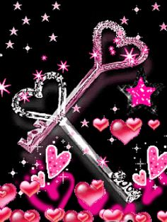 Pink Love gif by Cute_Stuff I Love Heart, Key To My Heart, Heart Art, Animated Heart, Animated Love Images, Animated Gif, Love You Gif, Love You Images, Heart Wallpaper