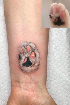28 Best Cat paw tattoos images in 2017 | Cat Tattoo, Tattoos, Cool ...